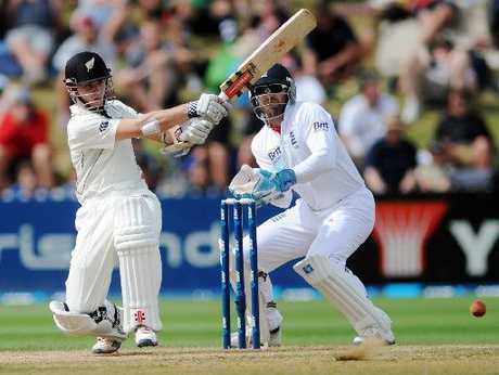 KANE PROVES ABLE: New Zealand will be hoping Kane Williamson continues his innings today.