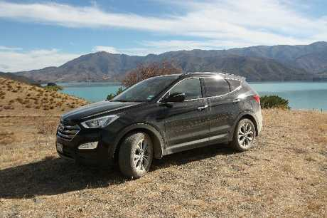 The Santa Fe coped well with South Island challenges from steep climbs to gravel.