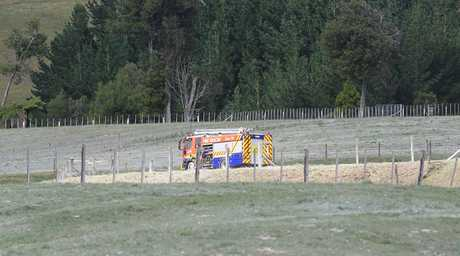 A truck has rolled down a bank killing the driver on a Te Matai Rd property.