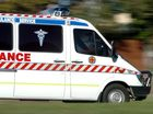 A MAN has died and six people were transported to hospital with serious injuries after a two vehicle crash at The Leap.