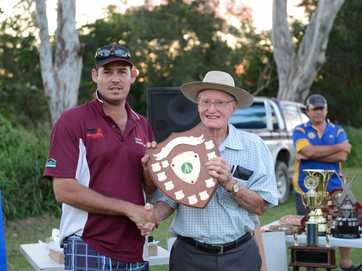 All the winners from the Gympie cricket presentations