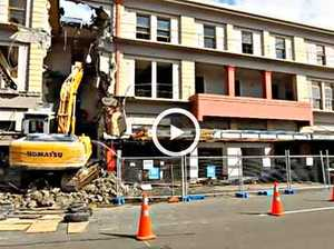 Caledonian Hotel demolition