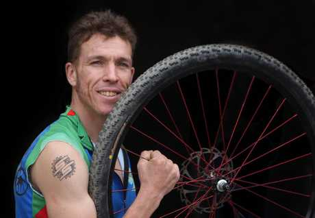 Garth Weinburg will be having another crack at a title in the New Zealand Singlespeed Mountain Bike champs next month.