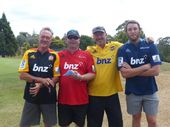 BNZ Northland held a golf tournament and raised a whooping $17, 000 for Project Promise.