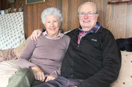 SUCCESSFUL PARTNERSHIP: Bob Todd and Pat, his wife of 53 years. PHOTO: GEOFF SLOAN