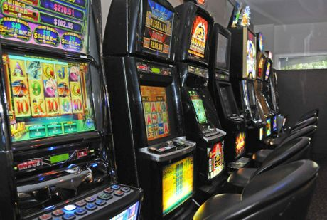 POKIES: Bundaberg residents continued to gamble during the worst floods in the city's history
