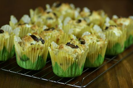 Mushroom and Cheese Muffins