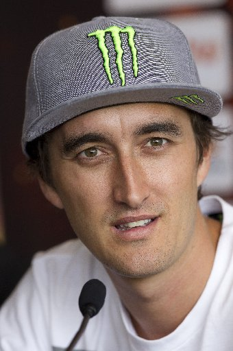 Current champ Aussie Chris Holder will be racing at the Springs this weekend.