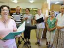 PATTY Hewitt says the U3A Good Vibes choir keeps her out of mischief, though denies she has any great talent.