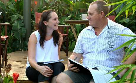 Life coach Helena Ryan used her skills to help her husband Justin Ryan through cancer.
