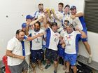 BROTHERS claimed the Ipswich Logan Premier League title with an outright victory by seven wickets over Laidley Blue Dogs in the final at Baxter Oval on Sunday.
