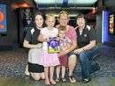 FAMILIES helped to sweeten Easter for people in need through the QT Adopt-a-Family Easter movie event on Sunday.