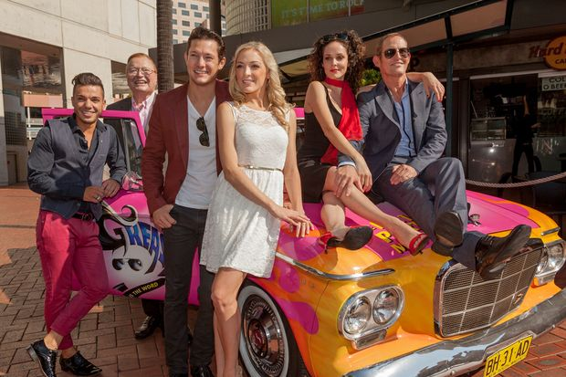 The new Aussie cast of Grease The Musical.