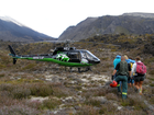 A Tauranga teen was one of two women rescued from the Tongariro Crossing yesterday afternoon.