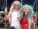 HATS and head-dresses were the stand-out fashion statement at BluesFest and it seems a festival isn't a festival without feathers and pork pie hats.