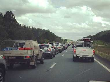 The Bruce highway.