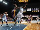 Cedric Jackson of the Breakers and Darnell Lazare of the Kings compete for the ball during game two of the NBL Semi Final series between the Sydney Kings and the New Zealand Breakers at Sydney Entertainment Centre on April 1, 2013 in Sydney, Australia.