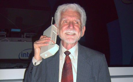 Martin Cooper made history when in April 1973 he made the first phone call from a mobile phone