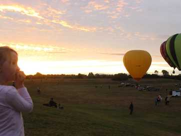 Thousands of people turned out to watch the launch of this year's Ballons over Waikato.