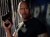 "Dwayne ""The Rock"" Johnson in a scene from the movie G.I. Joe: Retaliation."