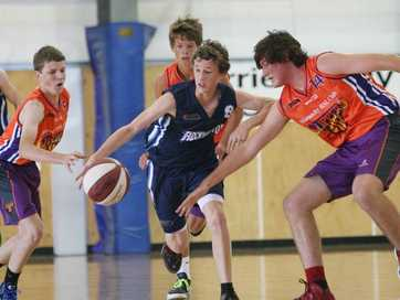 The Rockhampton U16 boys basketball team made it to the finals in the state championships held at Hegvold Stadium.  Well done guys.