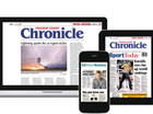 "BLOG: Professor Peter Swannell admits he is filled with ""appiness"" by The Chronicle's latest technological advancement - its epaper."