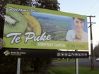 A YouTube clip promoting Te Puke as a business and tourism destination has attracted more than 1300 views since March 27.