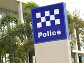 A MAN was arrested at the Valley Shopping Centre on Wednesday and charged with obstructing police, breaching a domestic violence order and wilful damage.