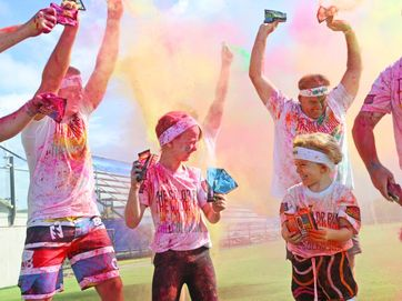 Swisse Color Run coming to Sunshine Coast