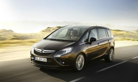 The seven-seat Opel Zafira.