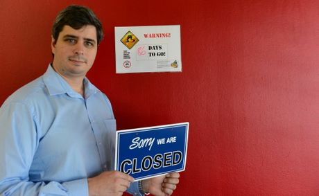 Dan McIntyre, chairman of CQ consumers association incorporated at the Rockhampton Tenancy Board which will close soon. Photo Sharyn O'Neill / The Morning Bulletin