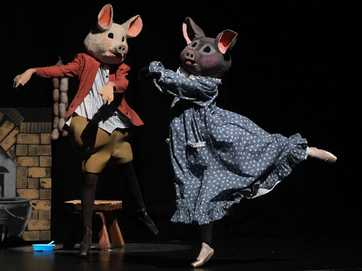 Beatrix Potter production by Anne Samson School of Dance