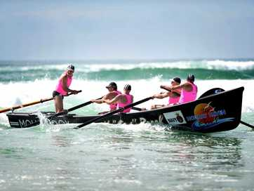 The first day of the 2013 Australian surf life saving championships starts with the masters.