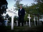 A field of 140 white crosses - symbolising Waipawa servicemen lost in war - was targeted by vandals on Saturday night with about 25 of them ripped out and stolen.