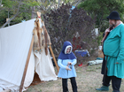 Company of the Dove are having a public display as part of their annual medieval camp.