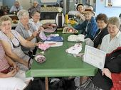 WINNERS: Members of the award winning CWA craft group.