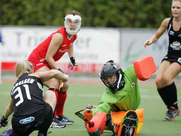 Womens International 4 way Hockey Tournament at Whangarei Final, New Zealand v Korea.