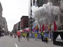 Raw video of the Boston Marathon explosions