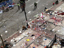 Two bombs exploded near the Boston Marathon finish line, killing three and injuring more than 100 people.
