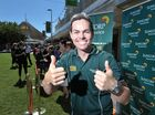 Racing fans meet V8 Supercars driver Craig Lowndes in the Ipswich Mall.