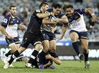 COLBY Faingaa will have some huge shoes to fill when the Brumbies tackle the Blues in Auckland on Saturday.