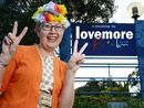 LISMORE will become Lovemore for the month of May following a reconciliation of sorts last week between Lismore councillors and the Aquarius immigrants.