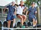 IPSWICH Girls' Grammar School's aspiring track athletes got a boost on Friday with a visit from Brisbane Olympian Genevieve LaCaze.