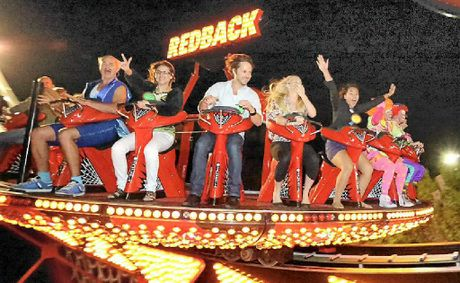 Ride the Redback at Aussie World's Twilight Night on Anzac Day.
