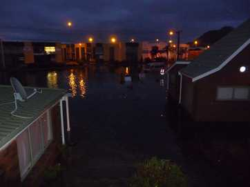 Readers photos of damaged caused by flooding around the Bay.
