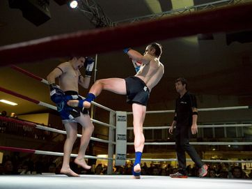 Trans-Tasman rivalry at the Muay Thai Anzac Challenge at Annand St Hall.
