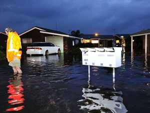 Photos of flooded streets and homes
