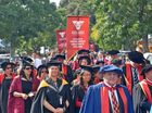 Hundreds of Te Whare Wananga o Awanuiarangi graduands gathered in Whakatane to celebrate their graduation.