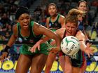 THE Adelaide Thunderbirds held off the fast-finishing West Coast Fever to secure a 49-47 win in Perth on Sunday.