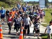 More than 340 people have registered for the fourth annual Country to Coast fun run this Sunday.